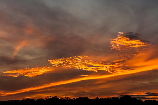 Sunset / @ 55 mm / 2019-10-20