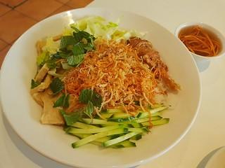 Vermicelli Salad (GF version) at Loving Hut