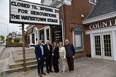 Rep. Polletta and Sen. Berthel Welcome Watertown Stage Developers to Main St.