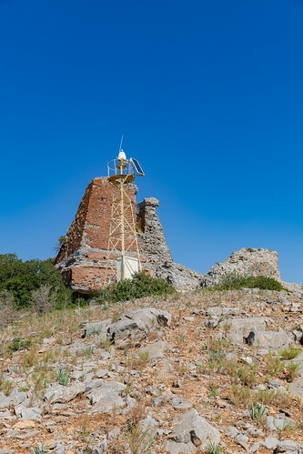 Old lighthouse on Baba Adasi island, Turkey | by dronepicr