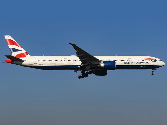 British Airways   Boeing 777-36N(ER)   G-STBE