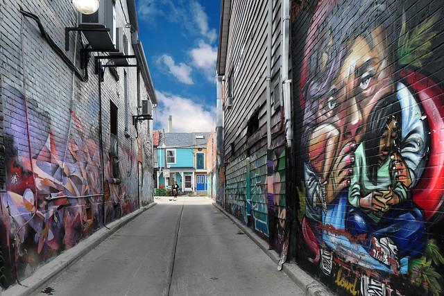 Colouring Toronto.