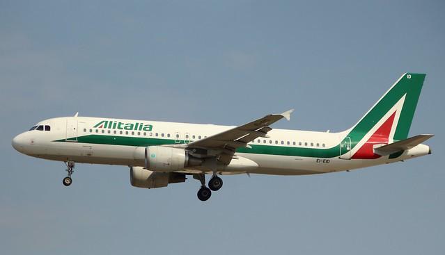 Alitalia, EI-EID,MSN 4523, Airbus A 320-216, 25.05.2019,  FRA-EDDF, Frankfurt (Named: Umberto Saba)