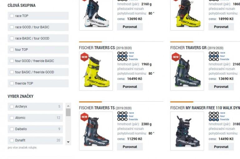 Podle čeho vybírat lyžařské boty na skialp a freeride