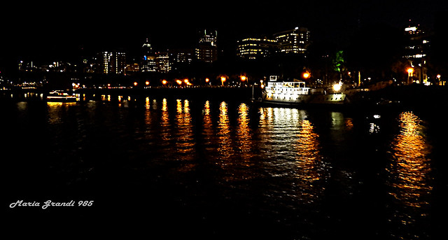 Boat Ride at Nightfall- N6