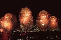 Fireworks, Liberty Weekend, July 4, 1986, Firework Display over