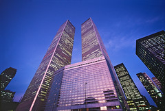 World Trade Center and Vista Hotel