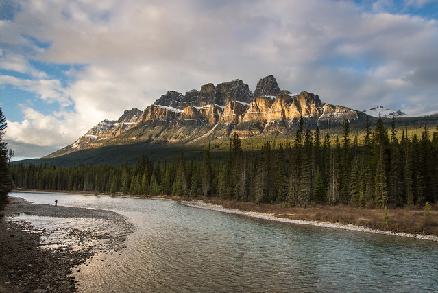 Castel Mountain Banff National Park