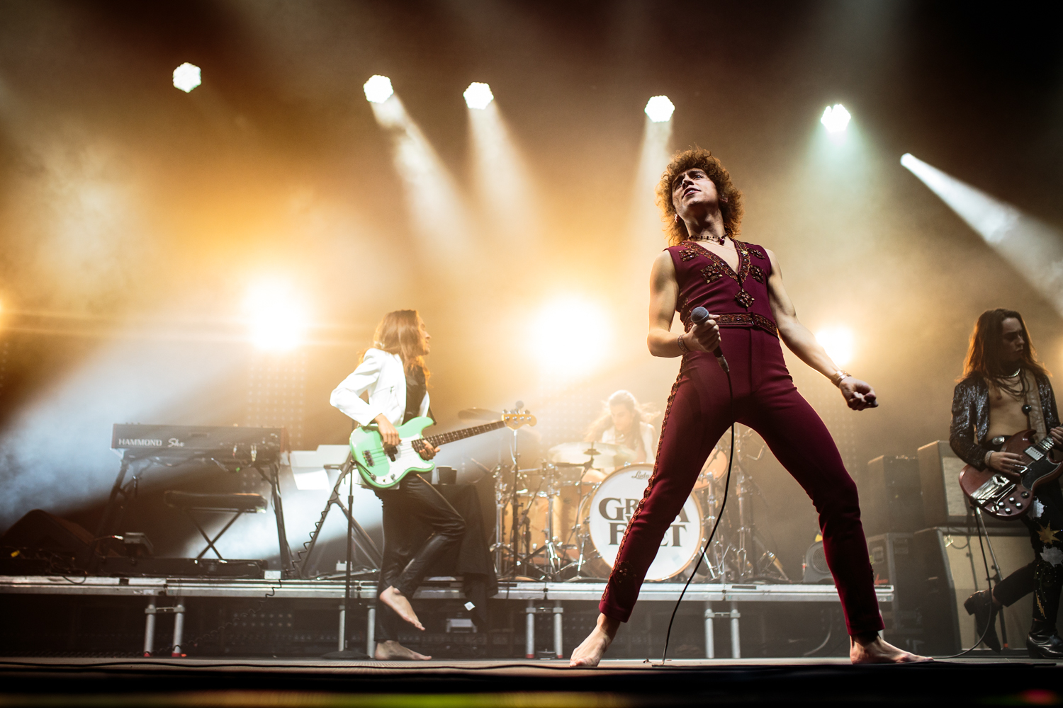 Greta Van Fleet @ Lotto Arena 2019 (Cathy Verhulst)