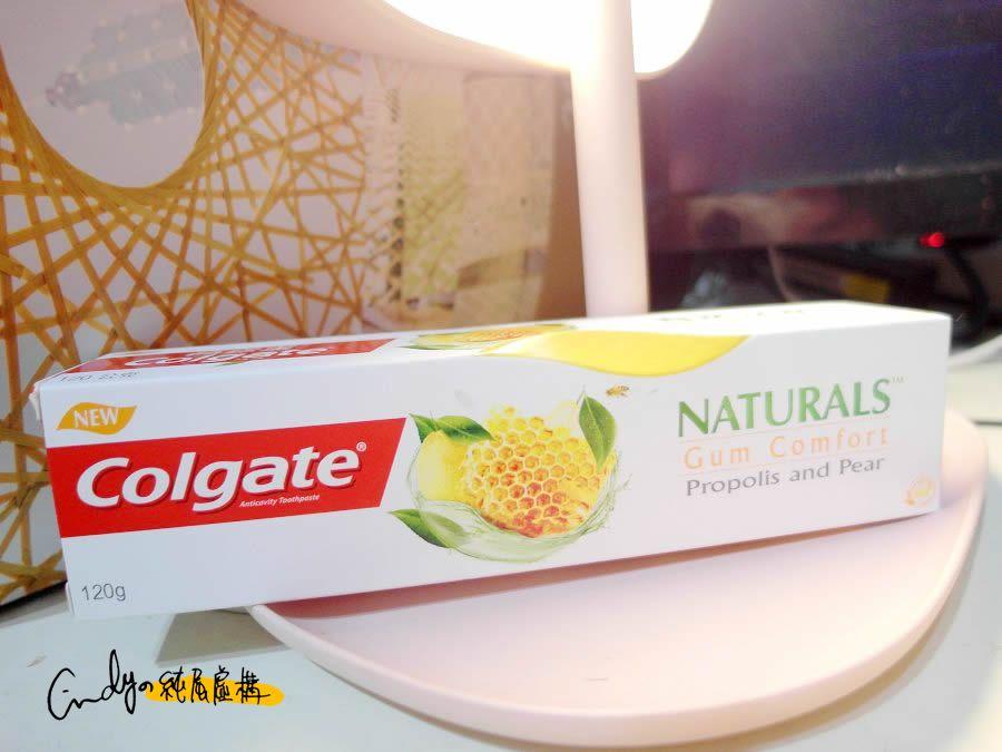 高露潔自然之萃舒護牙齦牙膏
