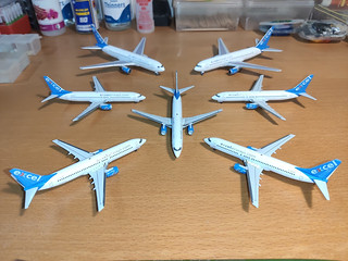 Excel Airways fleet 1 | by PT-TAA