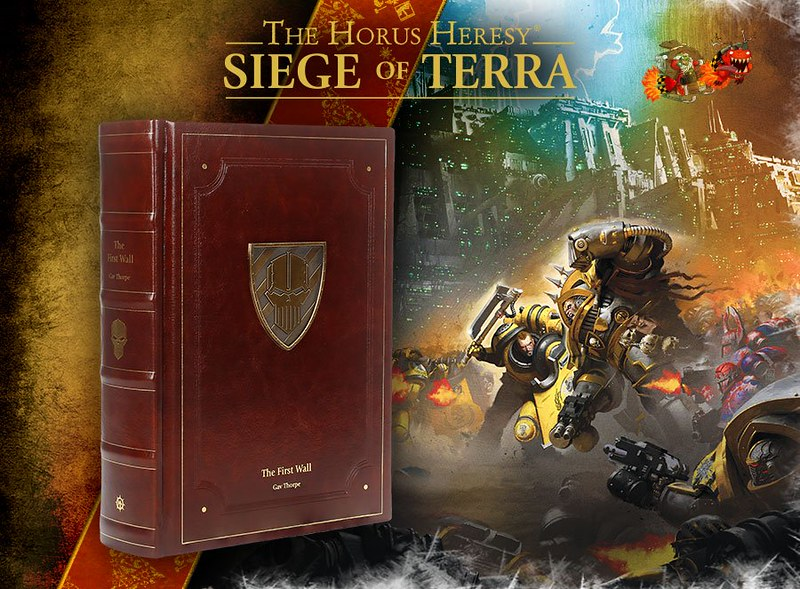 «Осада Терры: Первая стена», Гэв Торп | The First Wall, A Siege of Terra Limited Edition by Gav Thorpe