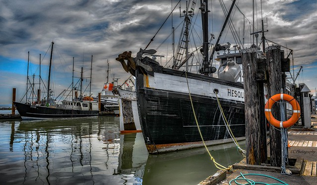 Fishing boats and Company - HDR