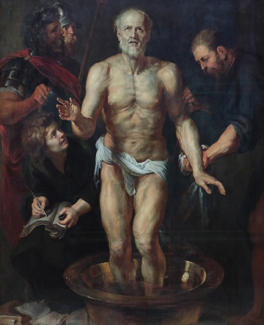 Pieter Paul Rubens (Siegen, 28 giugno 1577 – Anversa, 30 maggio 1640) - Seneca morente (1612-1613) Dimensioni 185 x 154,7 cm cm cm - Alte Pinakothek Monaco di Baviera