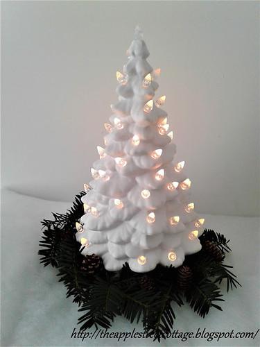 ceramic christmas tree update