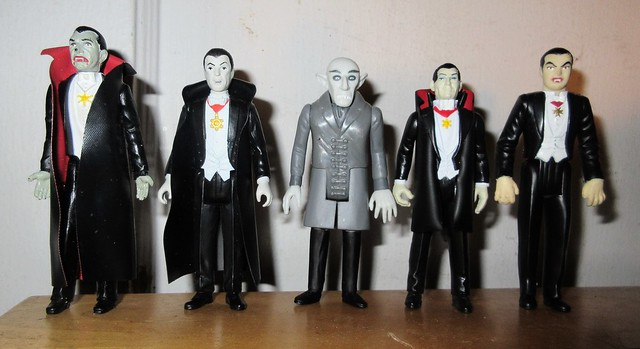 2019 Five Vampires - Dracula Funko Super7 ReAction 9947