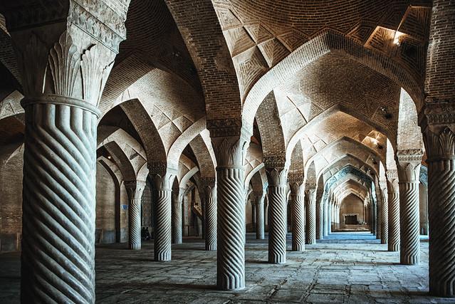 Shiraz, arquitectura