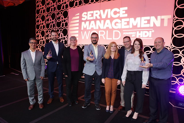 Service Management World 2019 - Tuesday, Nov. 12