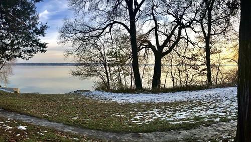 Lake Monona from Madison's Hudson Park