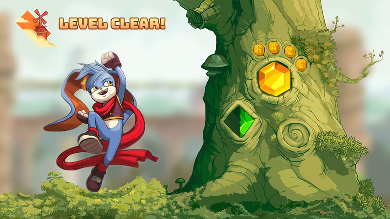 Kaze and the Wild Masks - Level Clear