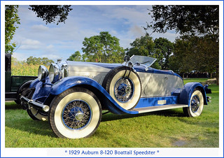 1929 Auburn 8-120 Boattail Speedster