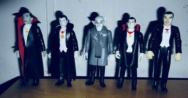 2019 Five Vampires - Dracula Funko Super7 ReAction 9954