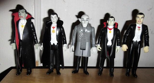 2019 Five Vampires - Dracula Funko Super7 ReAction 9956