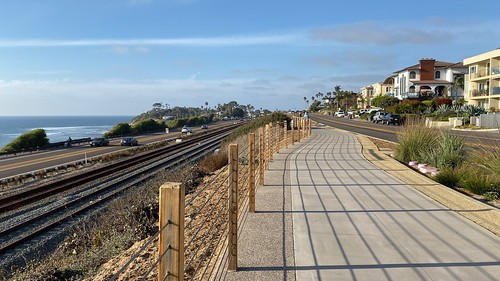 Coastal Rail Trail - Cardiff by the Sea to Encinitas, California