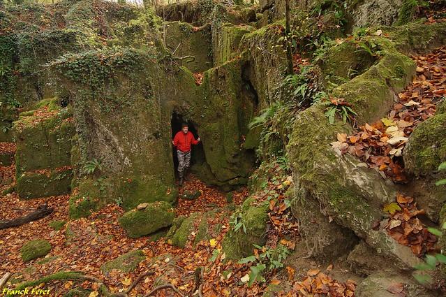 Entrée Grotte des Tufs - Les Planches-près-Arbois - Jura