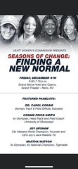 Coach Joy on USATF panel this December in Reno!