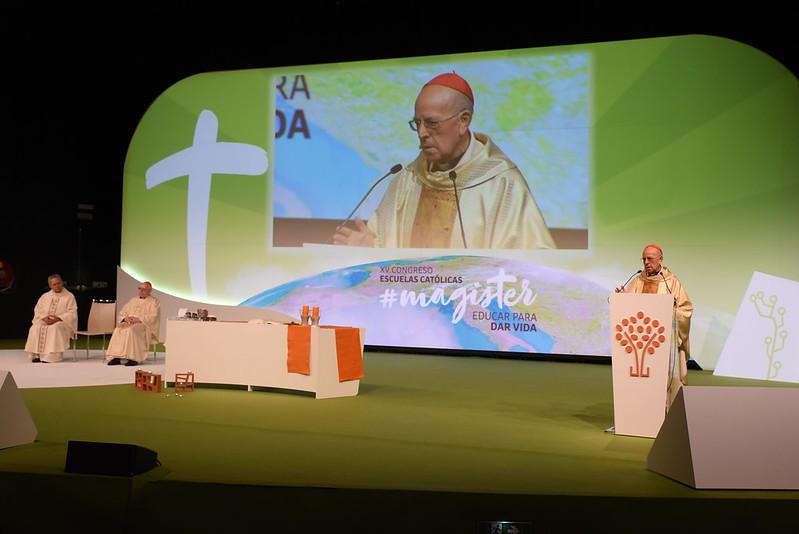 Blázquez, en el congreso de Escuelas Católicas