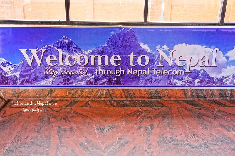 2014 Welcome to Nepal Signboard