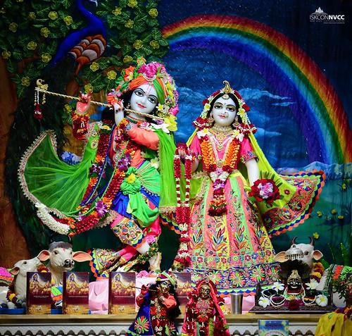 ISKCON Pune NVCC Deity Darshan 16 Nov 2019
