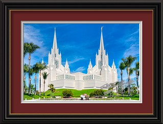 The San Diego California Temple | by LensLord