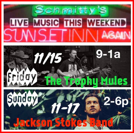 Schmitty's Sunset Inn Again 11-15-19