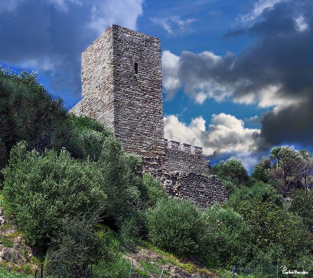 Torreon castillo Jimena de la Frontera