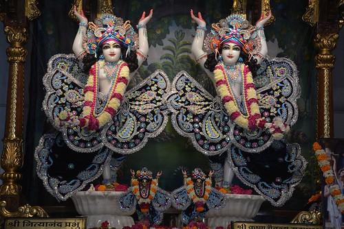 ISKCON Ujjain Deity Darshan 16 Nov 2019