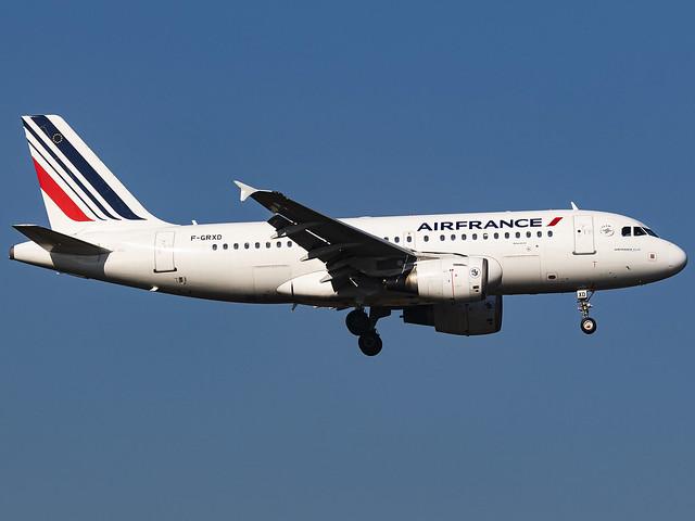 Air France   Airbus A319-111   F-GRXD