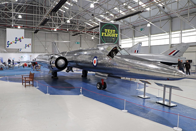 XF926  -  Bristol 188  -  Royal Air Force  -  RAF Museum Cosford 15/11/19