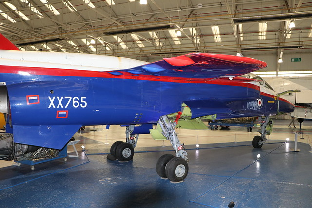 XX765  -  SEPECAT Jaguar ACT Demonstrator  -  Royal Air Force  -  RAF Museum Cosford 15/11/19