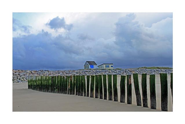 La plage à Sangatte