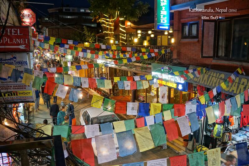 2014 Nepal Kathmandu Thamel Chowk 2