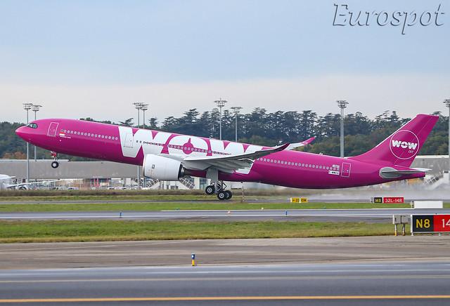 F-WWCU Airbus A330 Neo Wow Air / Citilink