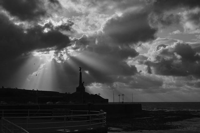 Aberystwyth War Memorial 11 11 2019