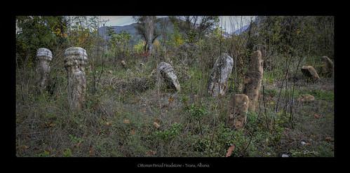 ottoman graves headstone albania turks history ancient balkans tirana