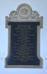 the men of Hoveton who died for their country