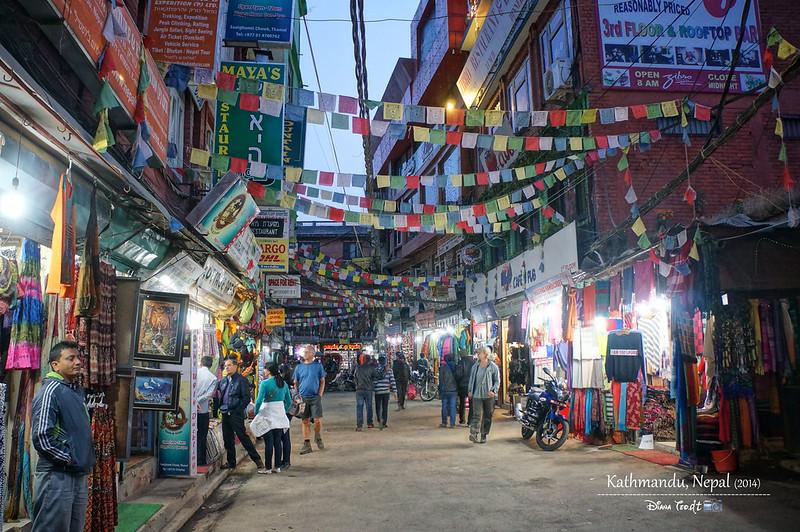 2014 Nepal Kathmandu Thamel Chowk 1