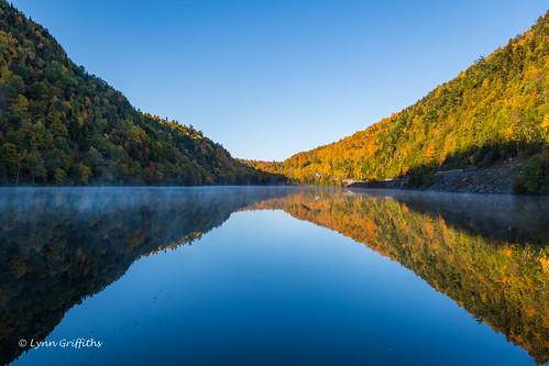 landscape trees reflection hill landscapephotography outdoorphotography keene newyork unitedstatesofamerica