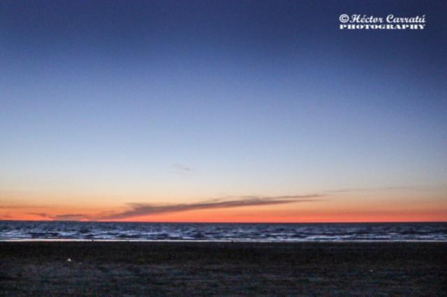 Crepúsculo en Punta Rasa