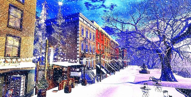 Snowy Cherishville....
